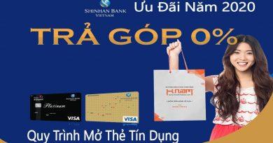 Hướng dẫn mở thẻ tín dụng ShinhanBank nhiều ưu đãi